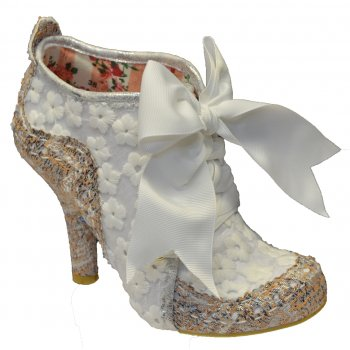Irregular Choice Abigails Third Party White (N8) 3081-06AH Ladies Heels