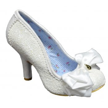 Irregular Choice Ascot White (N67) 3081-40T Ladies Heels