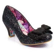 Irregular Choice Ban Joe Black / Glitter (N19) 4255-42J Ladies Heels