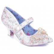 Irregular Choice Believe In You White (A6) 4521-04A Ladies Heels