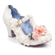 Irregular Choice Carriage Ride White (B24) 4375-9A Ladies Heels