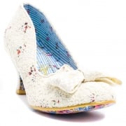 Irregular Choice Dazzle 2nd Razzle Cream Floral (N53) 4136-7K Ladies Heels