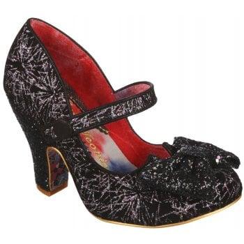 Irregular Choice Fancy That Black - Multi (N61) 4135-29AD Ladies Heels