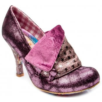 Irregular Choice Flick Flack Pink (F11) 3614-03DX Ladies Heels