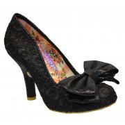 Irregular Choice Mal E Bow Black (F12) 3081-14E Ladies Heels