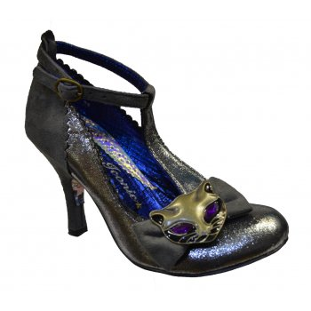 Irregular Choice Simba Grey (N26) 3614-44C Ladies Heels All Sizes