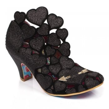 Irregular Choice Meile Black (A5) 4255-46B Ladies Heels