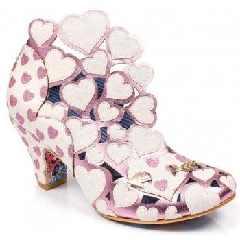 Irregular Choice Meile White / Pink (N5) 4255-46D Ladies Heels