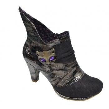 Irregular Choice Miaow Black (N200) 3432-2K Ladies Heels