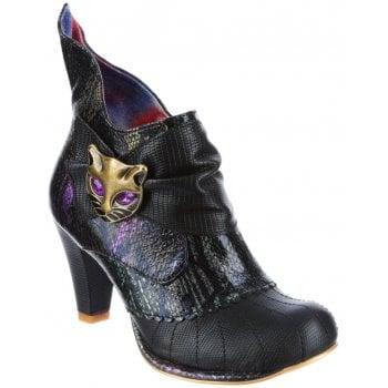 Irregular Choice Miaow Black (N88) 3432-02BP Ladies Heels