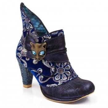 Irregular Choice Miaow Blue (N108) 3432-02AS Ladies Heels