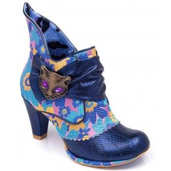 Irregular Choice Miaow Blue Nights (N12) 3432-02AX Ladies Heels All Sizes