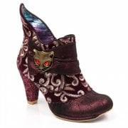 Irregular Choice Miaow Bordeaux (G28) 3432-02AR Ladies Heels