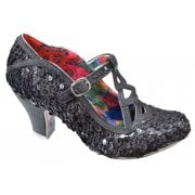 Irregular Choice Nicely Done Black (N55) 4255-05AH Ladies Heels