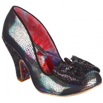 Irregular Choice Nick Of Time Blue (N68) 4135-14CK Ladies Heels
