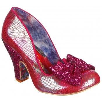 Irregular Choice Nick Of Time Dk Pink (A8) 4135-14CJ Ladies Heels