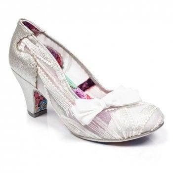 Irregular Choice Palm Cove Silver (N31) 4255-08L Ladies Heels