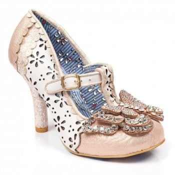 Irregular Choice Papillon Multi / White (E5) 4331-27D Ladies Heels