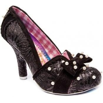 Irregular Choice Schatzi Black (B23) 4331-33A Ladies Heels