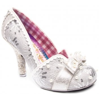 Irregular Choice Schatzi Silver (A3) 4331-33B Ladies Heels
