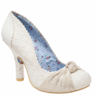Irregular Choice Smartie Pants Cream (N86) 3081-24D Ladies Heels