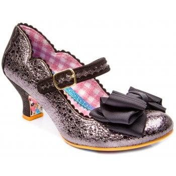 Irregular Choice Summer Breeze Metallic Black (N36) 4136-38Y Ladies Heels