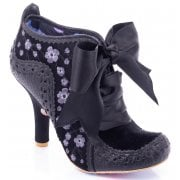 Irregular Choice Teenage Abigails Black (E4) 3081-56C Ladies Heels