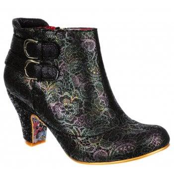 Irregular Choice Think About It Black (B10) 4304-01K Ladies Heels