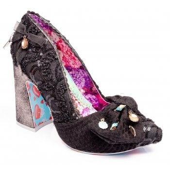 Irregular Choice Ti Amo Black (SC-D2) 4496-1C Ladies Heels