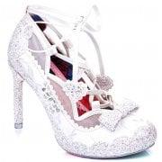 Irregular Choice Velvet Rope White (N38) 4557-01A Ladies Heels