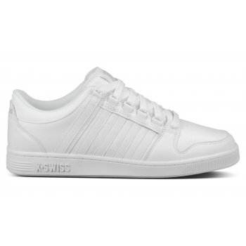 K-Swiss Alvary Leather White / Gull Grey (N50) 03206131 Mens Trainer