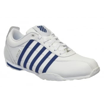 K-Swiss K SWISS Arvee 1.5 White / Ensigh Blue (B14) 02453-167 Men's Trainers