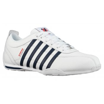 K-Swiss Arvee 1.5 White / Navy / Red (P3) 02453-130 Men's Trainers
