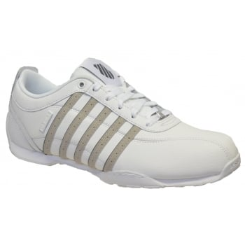 K-Swiss K SWISS Arvee 1.5 White / Silver Cloud / Charcoal (N200) 02453-111 Men's Trainers