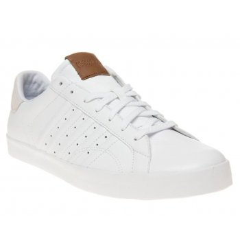 K-Swiss Belmont Low Leather White / Bone (Z10) 03323182 Mens Trainers