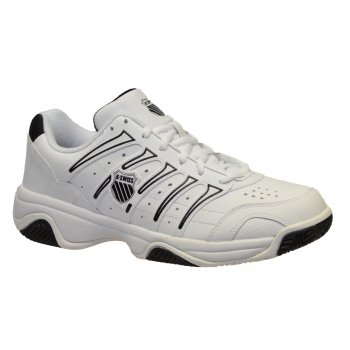 K-Swiss K Swiss Grancourt II White / Black (Z-28) 02648153 Mens Tennis Trainers
