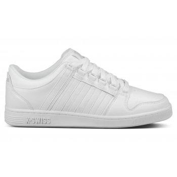 K-Swiss Alvary Leather White / Gull Grey (N50) 03206131 Mens Trainer
