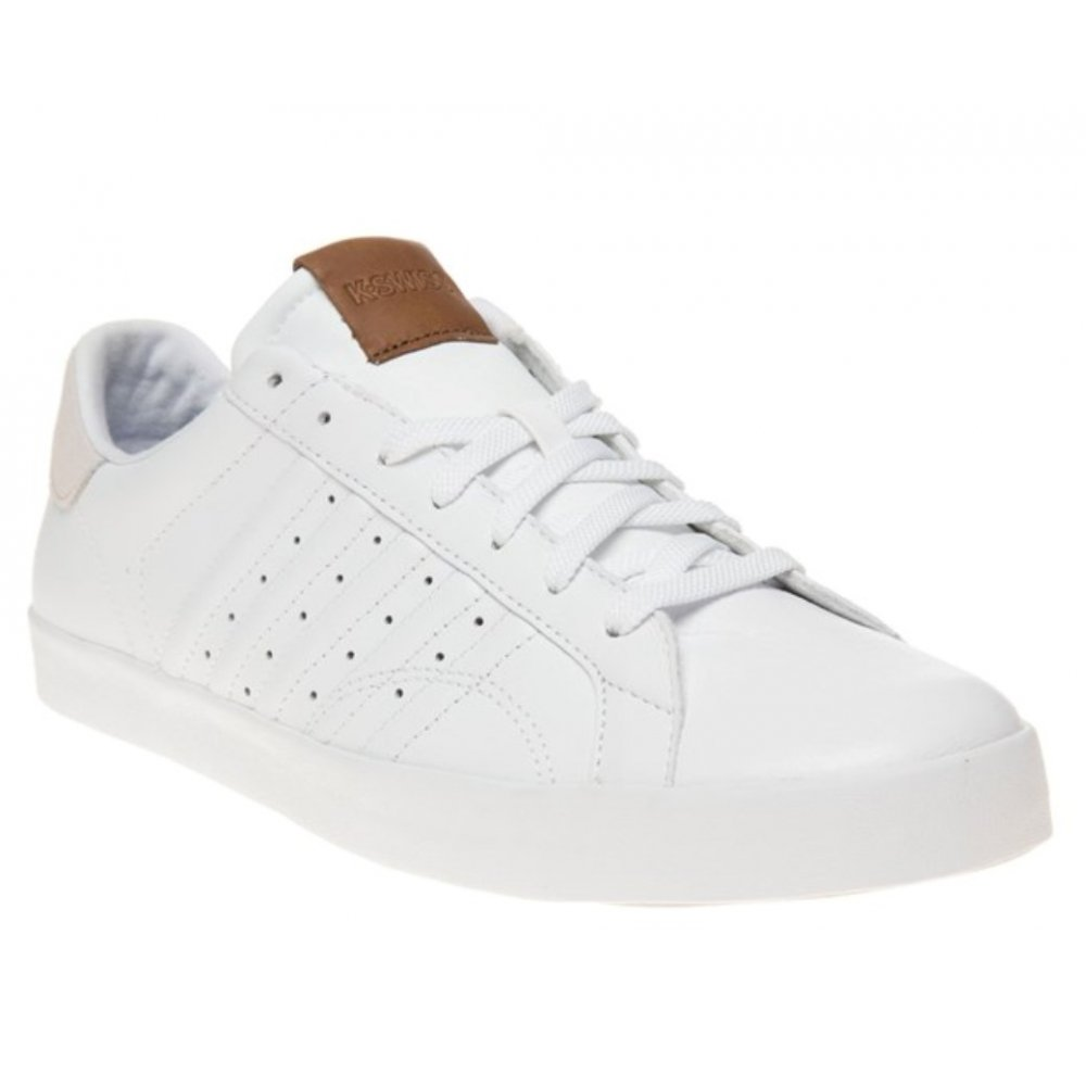 how to clean white leather trainers