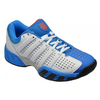 K-Swiss K Swiss Bigshot Light White / Blue (P2) 03338177 Mens Tennis Trainers