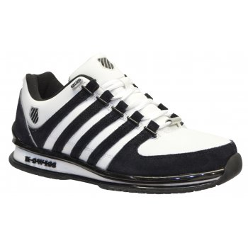 K-Swiss K Swiss Rinzler SP Leather White / Black / Reflective (SC7) 02283-161 Mens Trainers