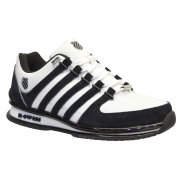 K Swiss Rinzler SP Leather White / Black / Reflective (SC7) 02283-161 Mens Trainers