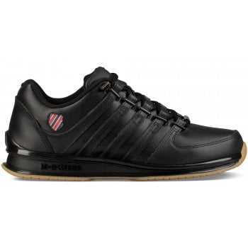 K-Swiss Rinzler SP Leather Black / Red / Gum (K2) 02283-081 Mens Trainers