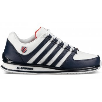 K-Swiss Rinzler SP Leather White / Blue / Red (N54) 02283-171 Mens Trainers