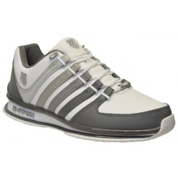 K-Swiss K Swiss Rinzler SP Leather White / Gray Gradient (N90) 02283-117 Mens Trainers