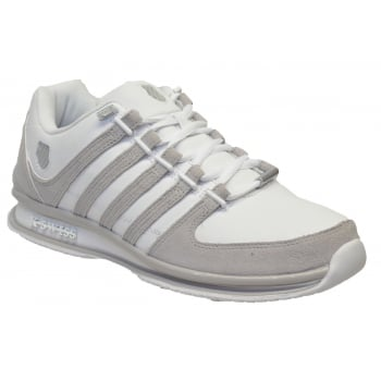 K-Swiss K Swiss Rinzler SP White /Gull Gray (T3B) 02283-142 Mens Trainers
