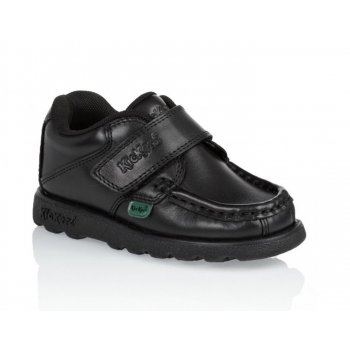 Kickers Fragma Strap IM Infants (SC-d2) 1-12289 Black School Shoes
