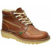 Kickers Kick Hi M Core Leather AM Dark Tan (Z102) 1-11694 Mens Boots