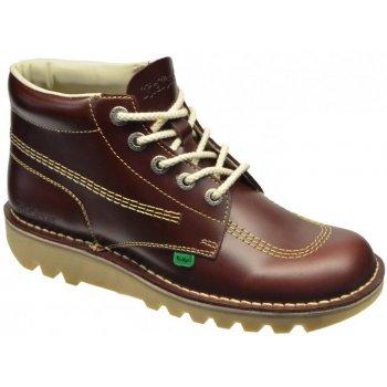 Kickers Kick Hi M Core Leather Dark Red (Z-3) 1-11789 Mens Boots