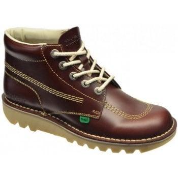 Kickers Kick Hi M Core Leather Dark Red (Z17) 1-11789 Mens Boots