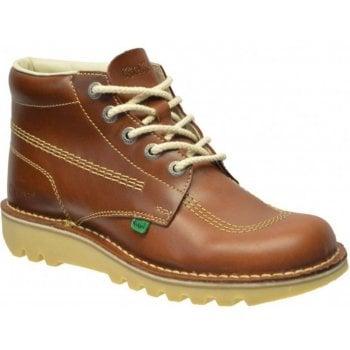 Kickers Kick Hi M Core Leather Dark Tan (Z102) 1-11694 Mens Boots